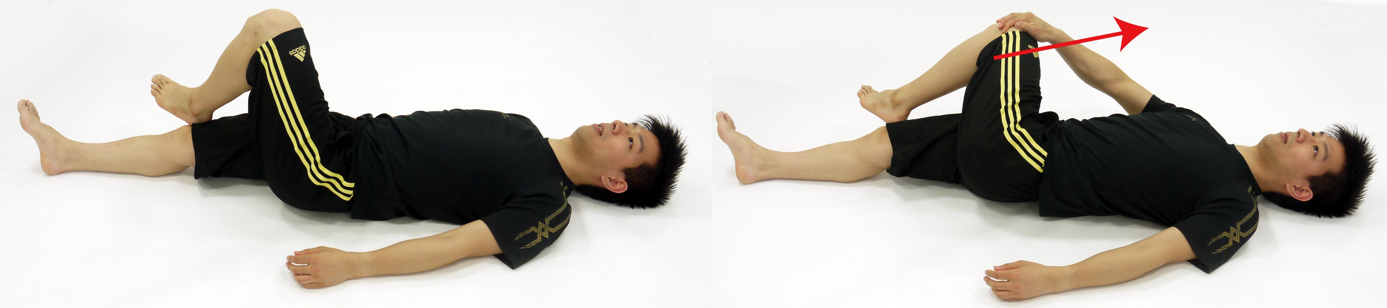 美容師の腰痛対策のストレッチ