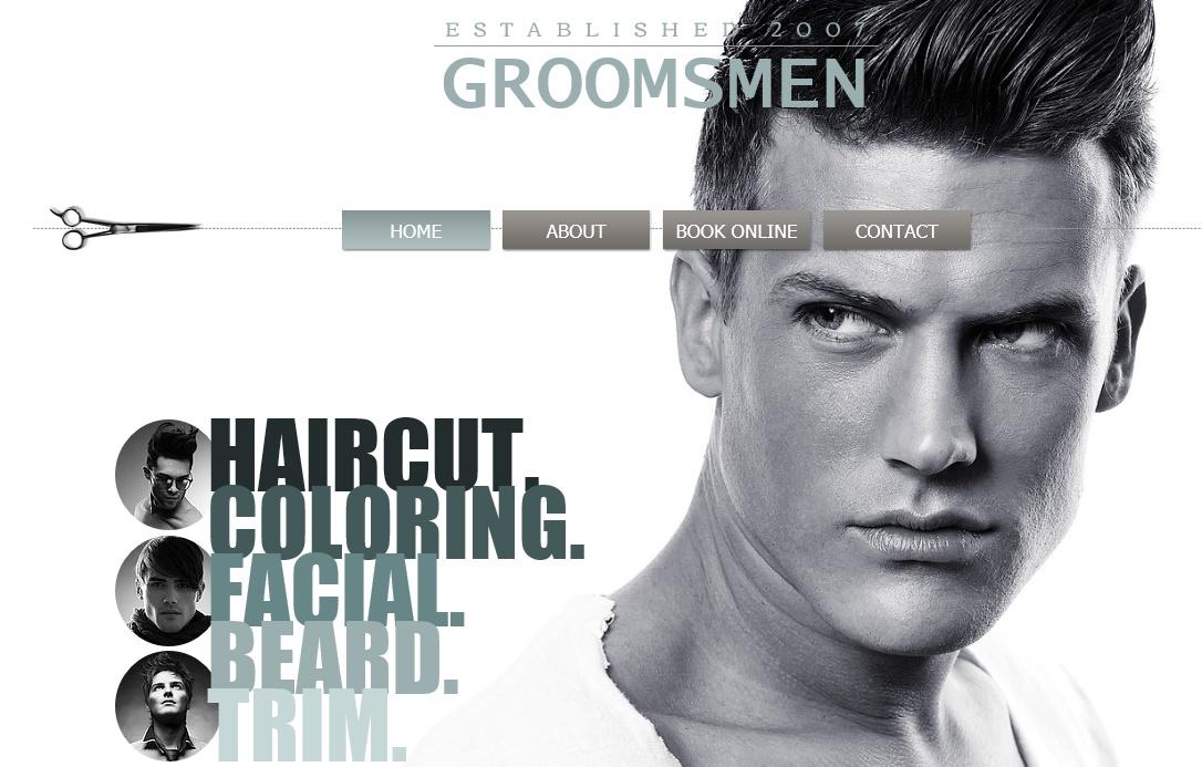 美容室向けのデザイン力のホームページで勝負する