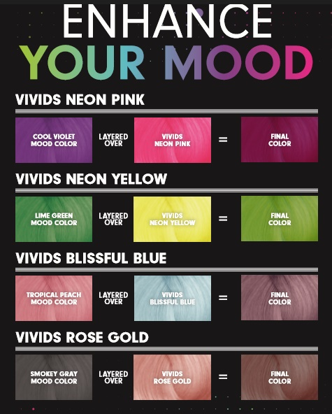 美容師 4色が温度で変化するヘアカラー剤