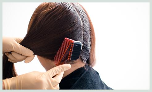 訪問美容のヘアカラー時の道具